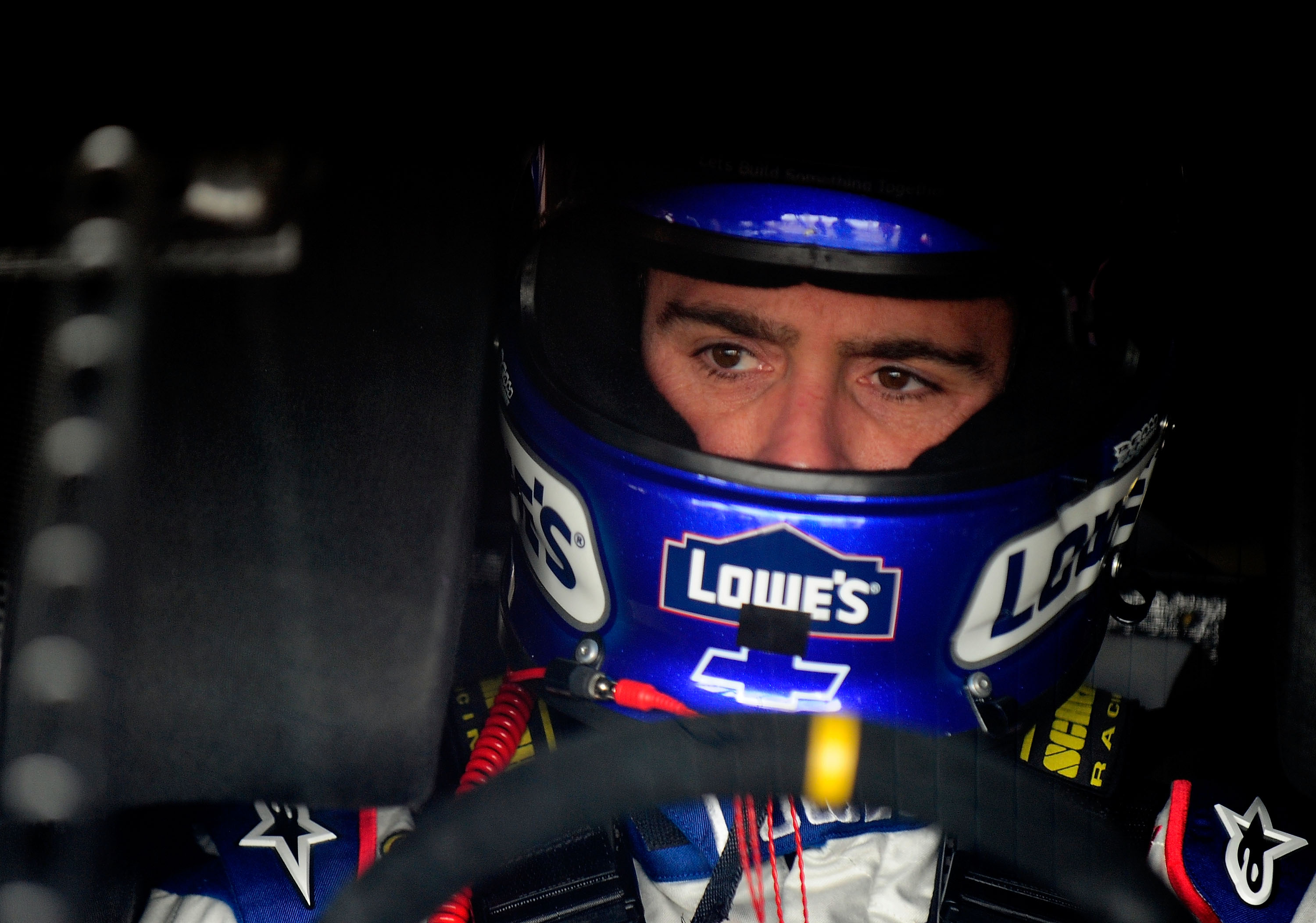 JIMMIE JOHNSON appears to be the man to beat today. (Photo Rusty ...