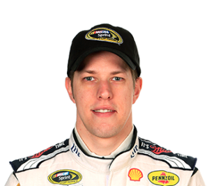 Brad Keselowski is the clear favorite today at New Hampshire. (photo courtesy nascar)