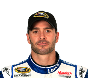 But Jimmie Johnson is a very close #2, offering 99% of Gordon's value. (photo courtesy nascar)