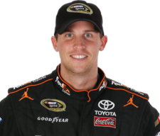 Denny Hamlin figures prominently in my top 30 optimized DraftKings lineups for Dover I. (photo courtesy nascar)
