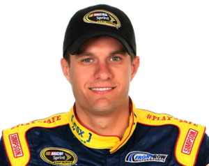 David Ragan will sub for Kyle Busch--run him while you can. (photo courtesy nascar)