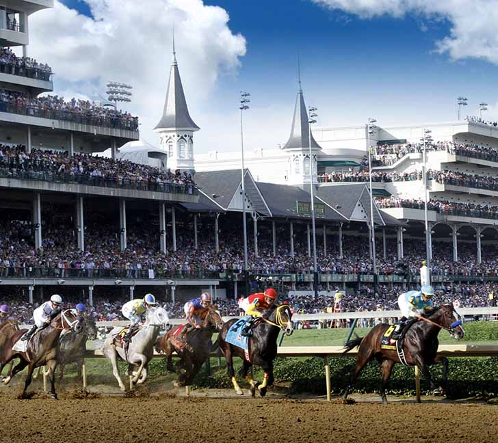 churchill downs racing photo